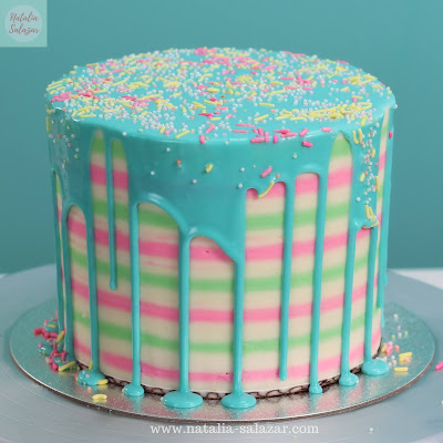 recetas para drip cake