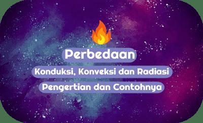 Perbedaan Konduksi, Konveksi dan Radiasi