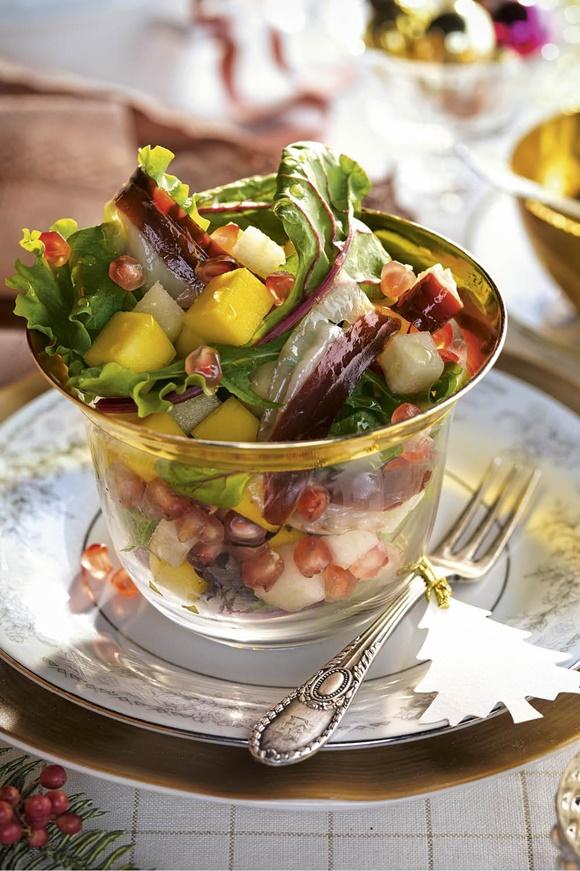 Ensalada De Jamon Y Frutas
