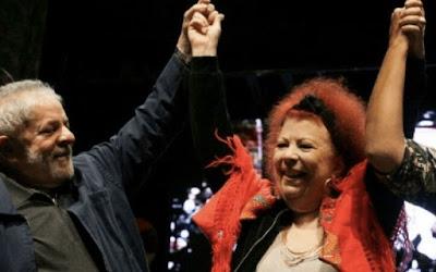 Lula com Beth Carvalho