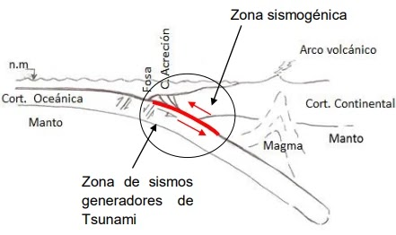 Los parámetros sísmicos cumplen un papel importante en la generación de Tsunamis, y por lo tanto, es fundamental entender su variabilidad y la capacidad para producir olas anómalas.