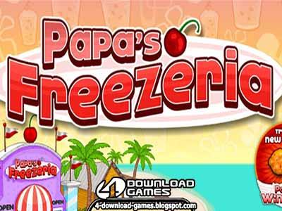 لعبة مثلجات باباس Papa's Freezeria
