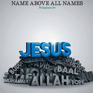 JESUS ABOVE OTHER NAMES