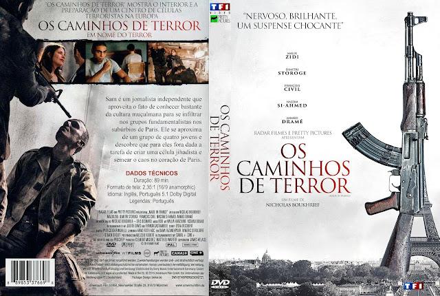 Capa DVD Os Caminhos Do Terror