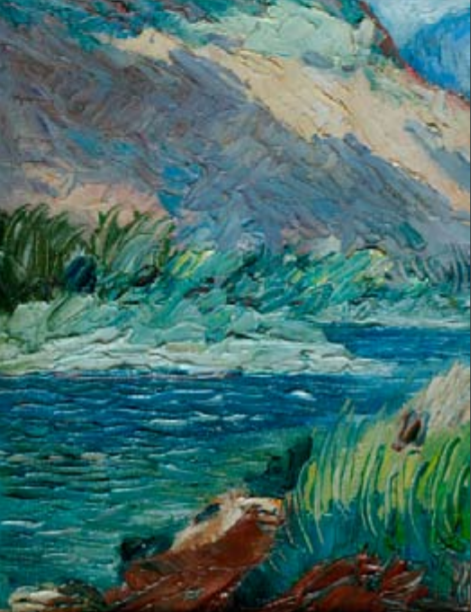 Rio y montaña