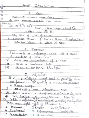 Christopher English Handwritten Notes : for all Competitive Exams PDF