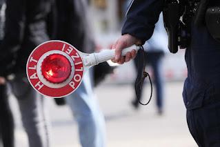 Полиция Берлина и штрафы