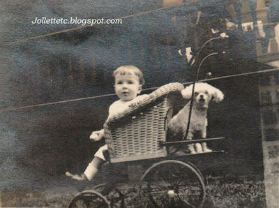 John Jr. and Cutie 1918 http://jollettetc.blogspot.com