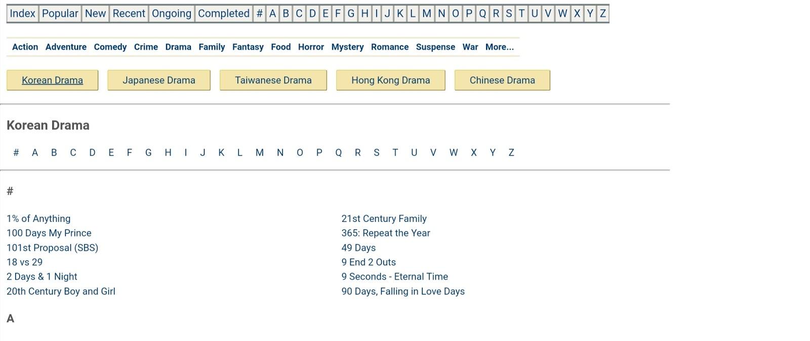 GoodDrama Korean movie download site