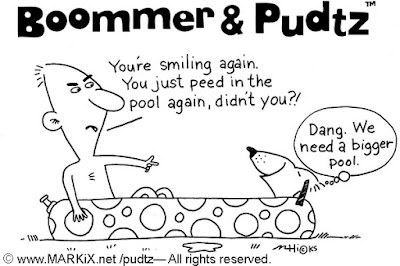 Boommer & Pudtz and pool pee