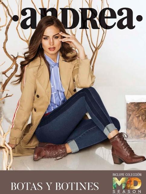 Catalogo de botas Andrea : botas y botines  2018