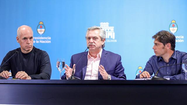 """Alberto Fernández, sobre el coronavirus: """"Vamos a perseguir a todos los que aumenten los precios; el riesgo no puede ser negocio"""""""