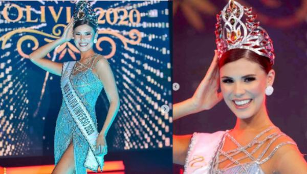 Lenka Nemer es Miss Bolivia 2020