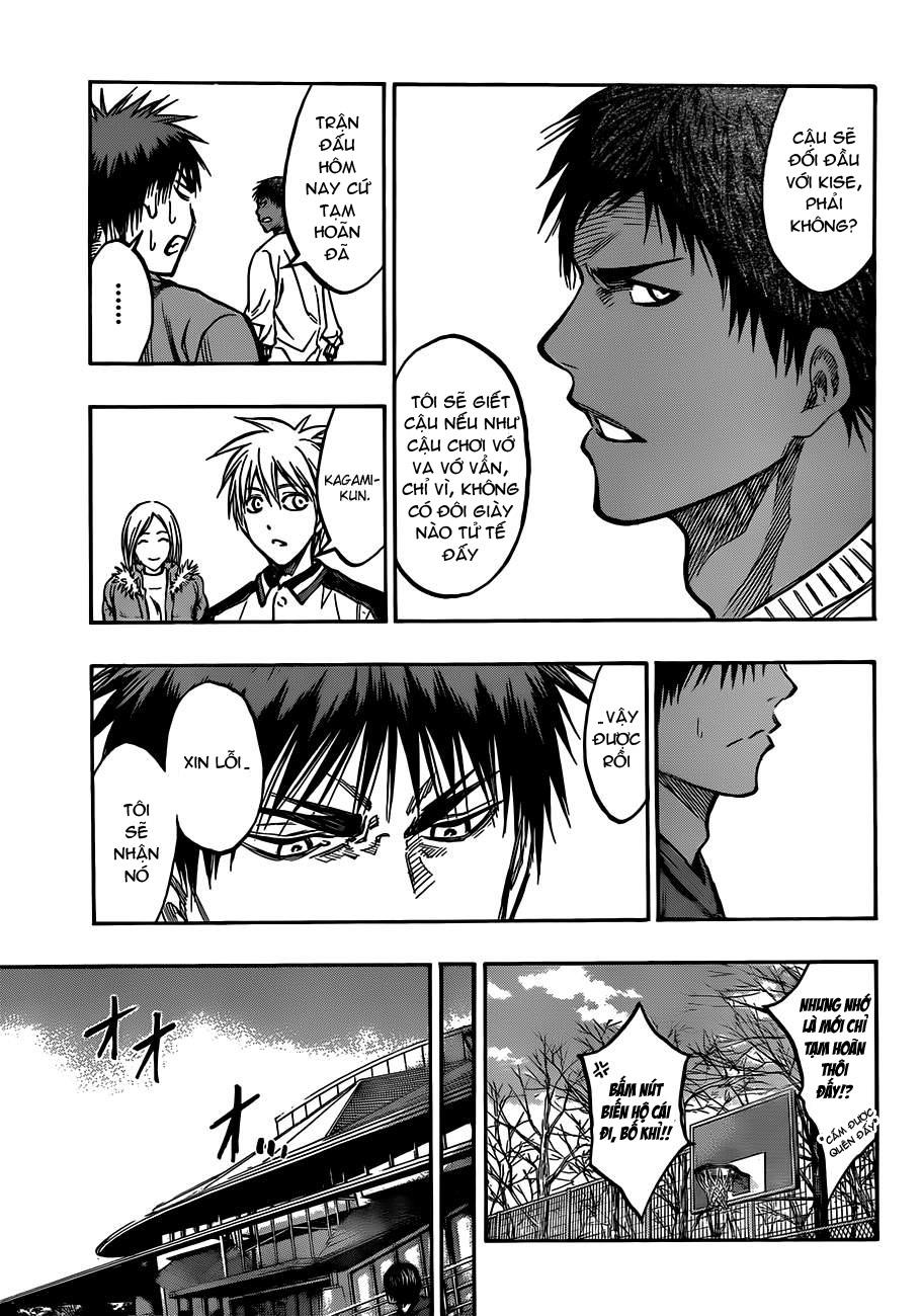 Kuroko No Basket chap 174 trang 15