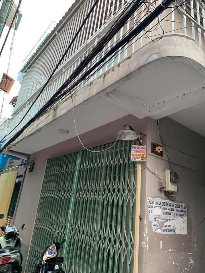 Bán nhà hẻm 201 Dương Bá Trạc phường 1 Quận 8 giá rẻ. DT 5,1x5m