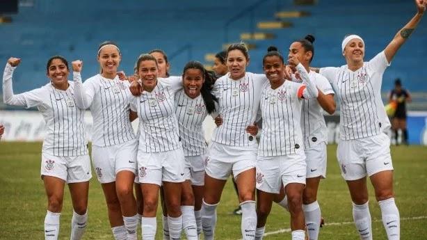 Corinthians e Santos largam na frente por vagas nas semifinais do Brasileirão Feminino da Série A-1