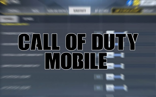 call of duty mobile sensitivity setting low recoil
