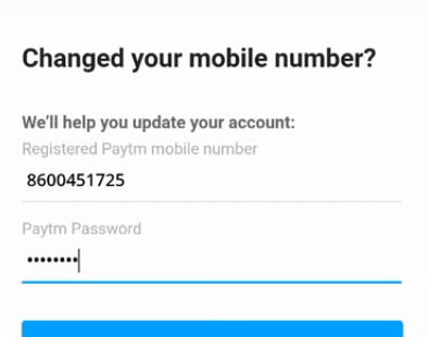 Paytm | Registered Mobile Number Change Without Login | Without OTP