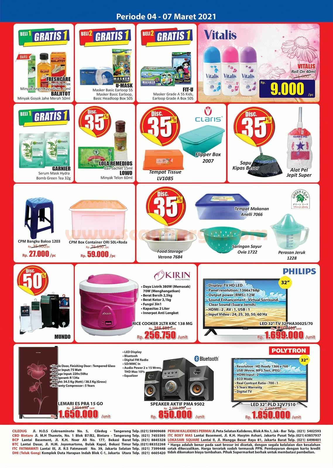 Katalog Promo JSM Hari Hari Swalayan Weekend 4 - 7 Maret 2021 4