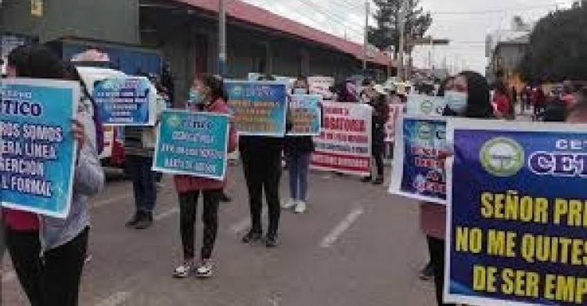 CETPRO: Más de 5 mil estudiantes serían afectados por normativa del MINEDU que excluye carreras de cosmetología y peluquería