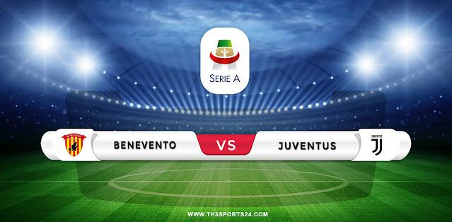 Benevento vs Juventus Prediction & Match Preview