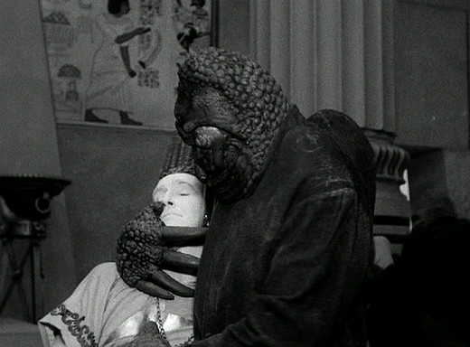Still from The Mole People, 1956