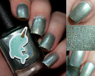 Grace-Full Nail Polish Swam with a Narwhal | Once Upon a Dream Collection