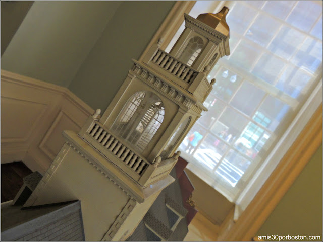 Maqueta del Old State House de Boston