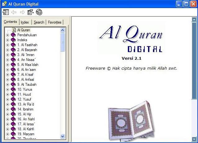 Aplikasi Al Quran 30 Juz - Nusagates