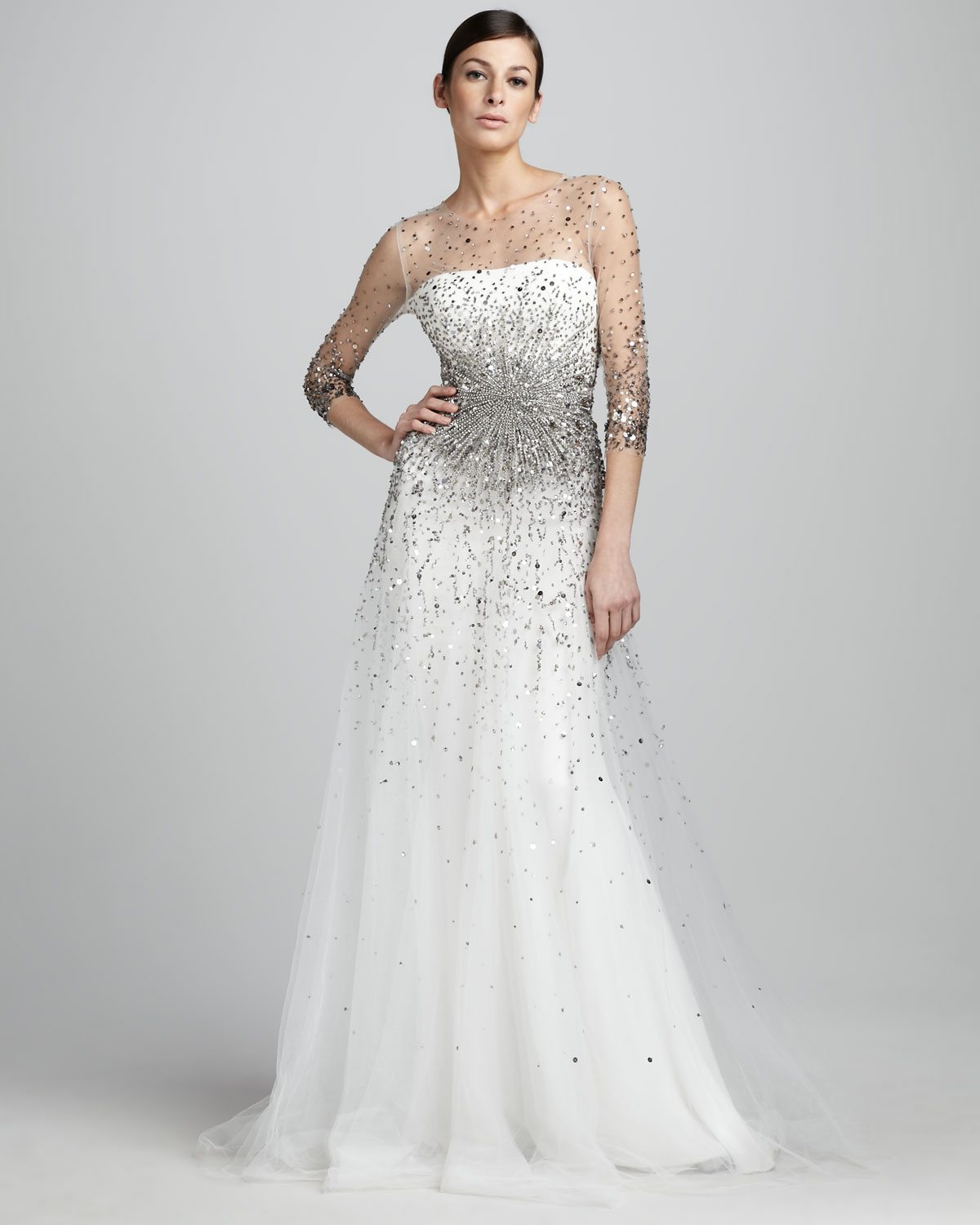 Wedding Dresses For Second Time Brides Over 40 | Wedding