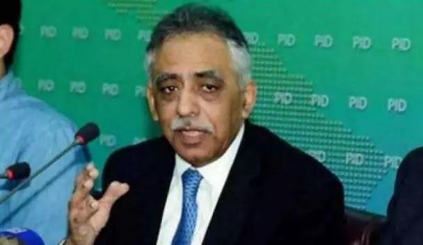 Muhammad Zubair offered to resign to PTI