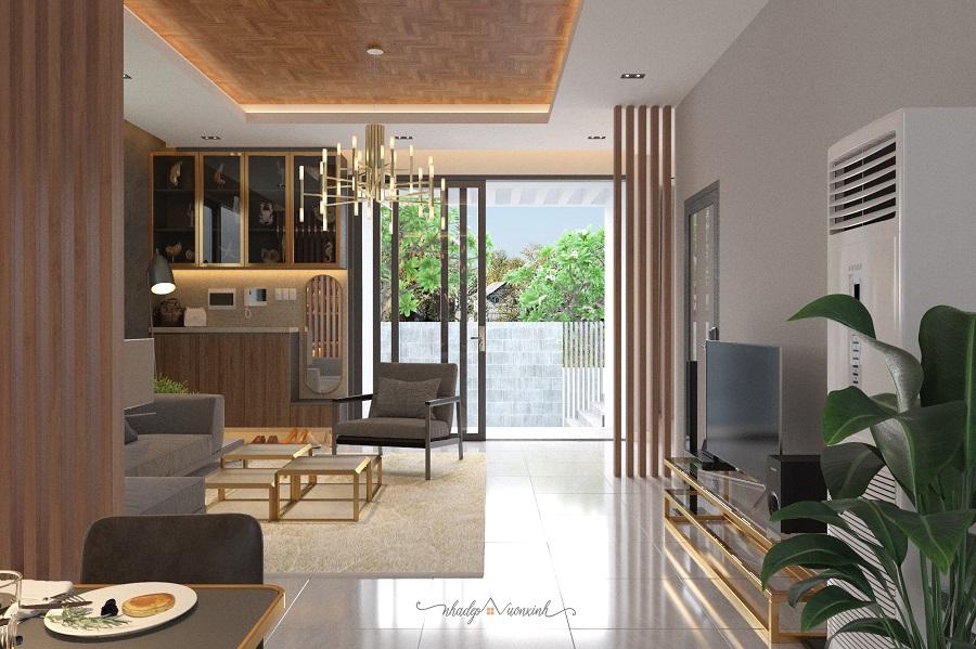 Hình ảnh thiết kế biệt thự vườn phần nội thất 1