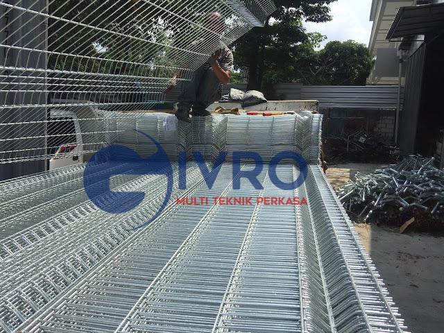 Pabrik Pagar BRC Galvanis Jakarta