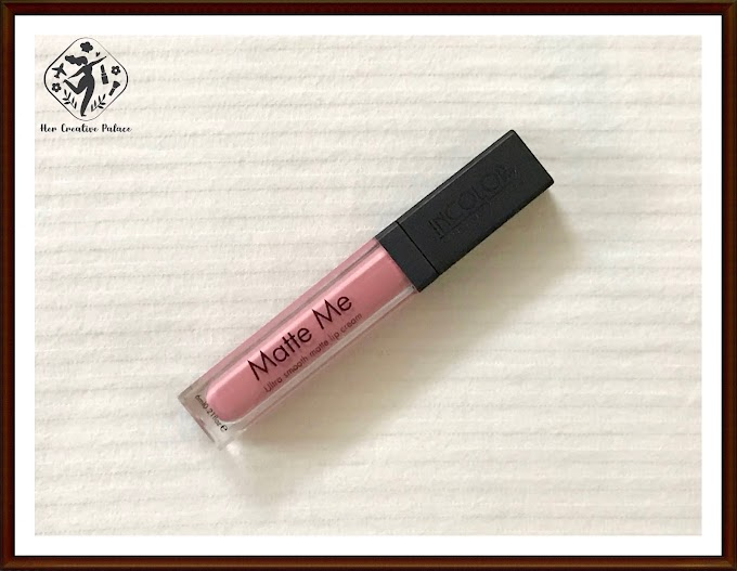 Incolor Matte Me Ultra Smooth Matte Lip Cream - N422: Review, Swatch