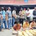 Tim Gagak Hitam Satresnarkoba Polres Payakumbuh, Ringkus 4  Pria Dan Amankan 100kg Ganja