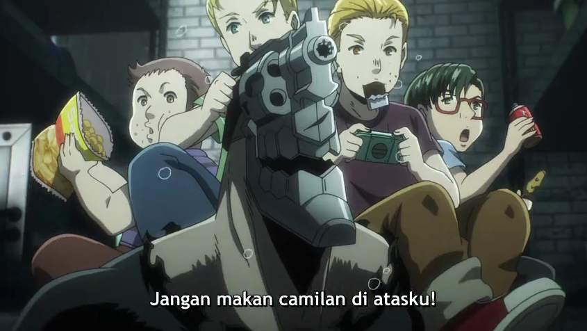 No Guns Life S2 Episode 01 Subtitle Indonesia