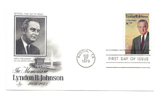 Lyndon B. Johnson FDC.