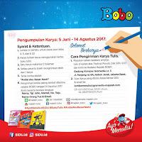 Lomba Menulis Majalah Bobo - SIDU