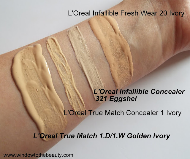 loreal infallible vs true match