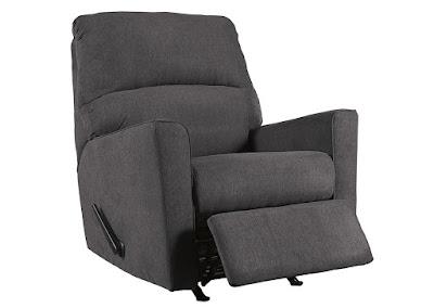 gray Ashley Alenya rocker recliner
