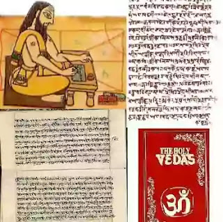 Much of Indian literature is re-working of the Sanskrit epics, the Ramayana and the Mahabharata, and the mythological writings known as Vedas, Puranas, the authors often remain anonymous. The Mahabharata is said to be the longest poem in the world at 100,000 stanzas strong.