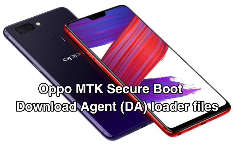 تجميعه ملفات Download Agent -DA لهواتف OPPO المحمية Secure Boot