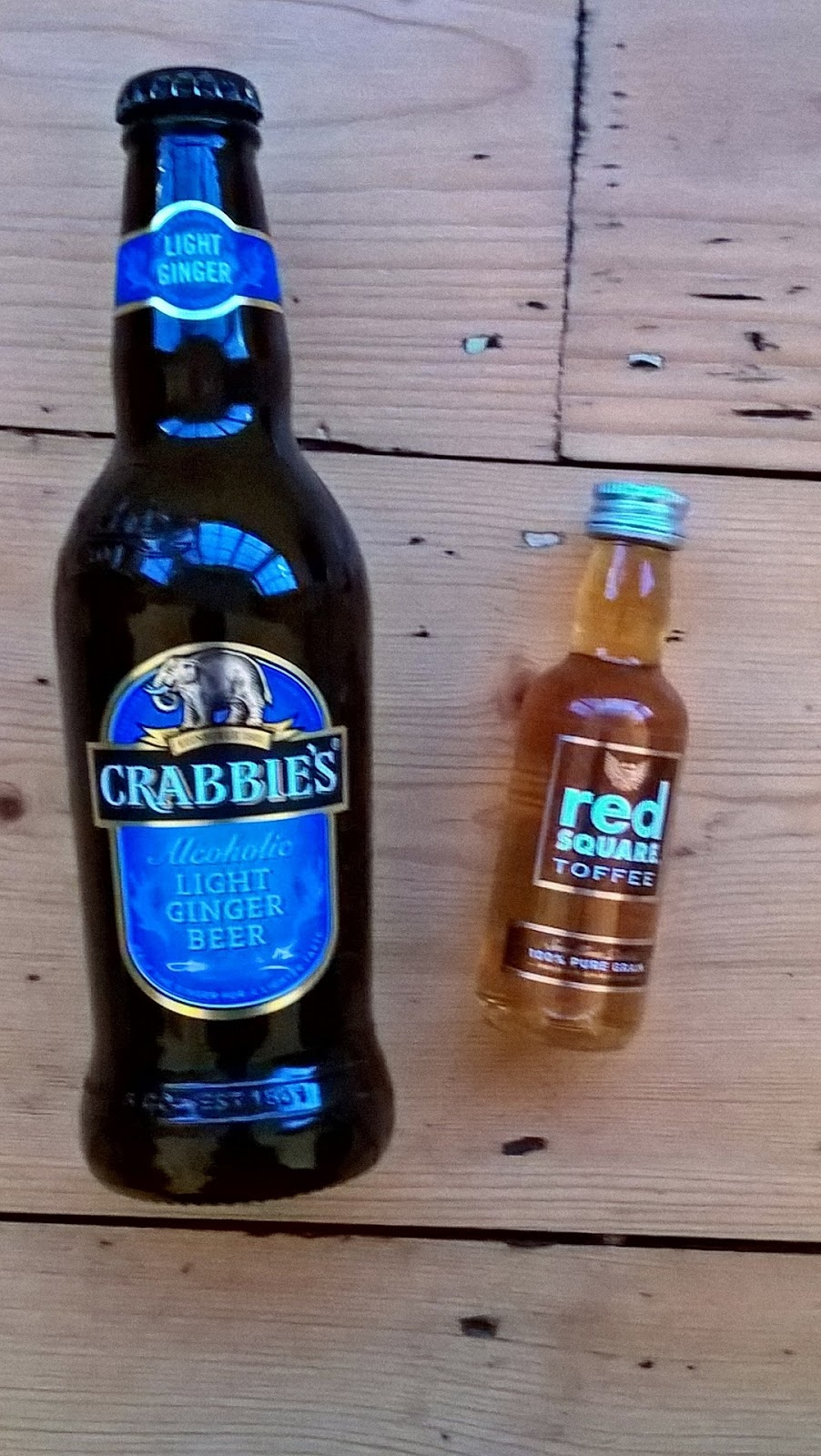Crabbies Alcoholic Light Ginger Beer & Red Square Toffee Mini Vodka - Degustabox review - motherdistracted.co.uk