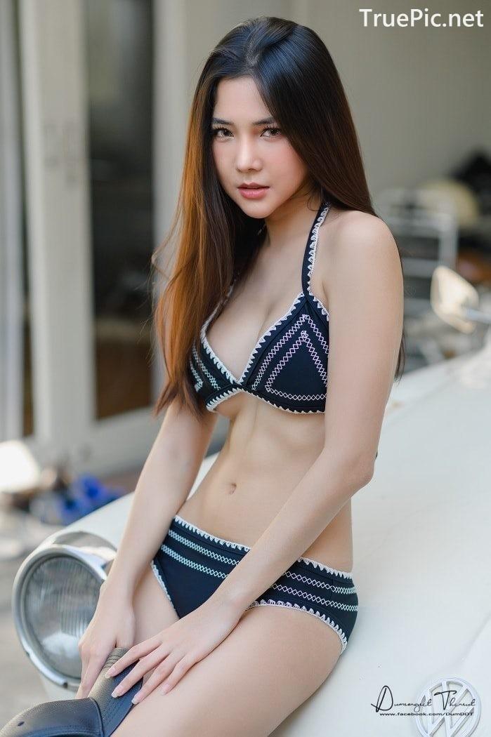 Image Thailand Model - Phitchamol Srijantanet - Triangle Bikini Tops - TruePic.net - Picture-8