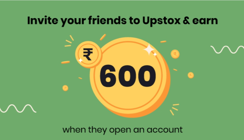 Upstox Pro Referral Offer: Open Demat Account & Get Rs.600 Instantly