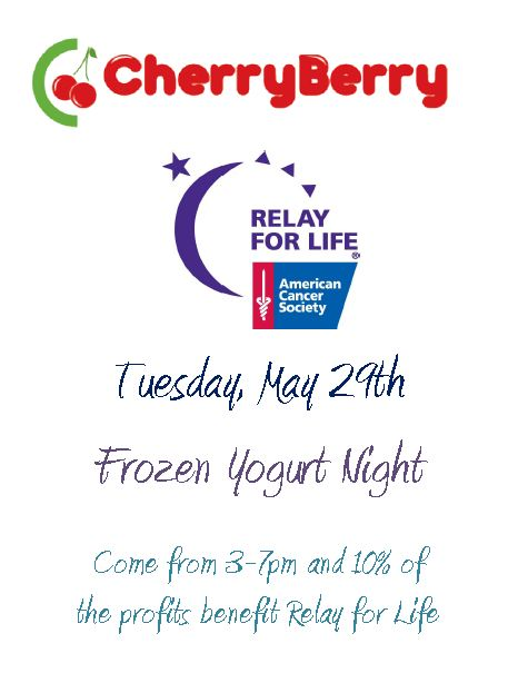 relay for life flyer template - adventures in fundraising