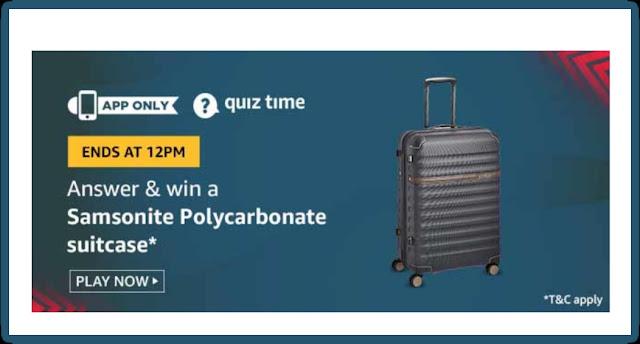 Amazon Quiz 29 July 2020 Answer Win - ( Price )