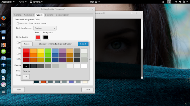 warna background