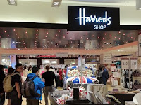 Eye Wash at Harrods, and Ultimate Largest Malls in Europe