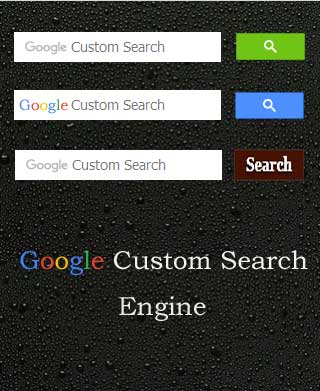 Google-Custom-Search-Engine